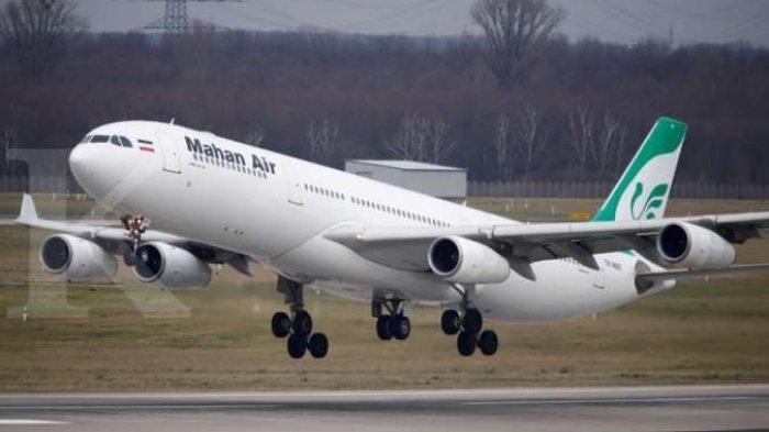 TEGANG, Ulah Jet Tempur Amerika Nyaris Hantam Pesawat Irang, Penumpang Sampai Luka-luka