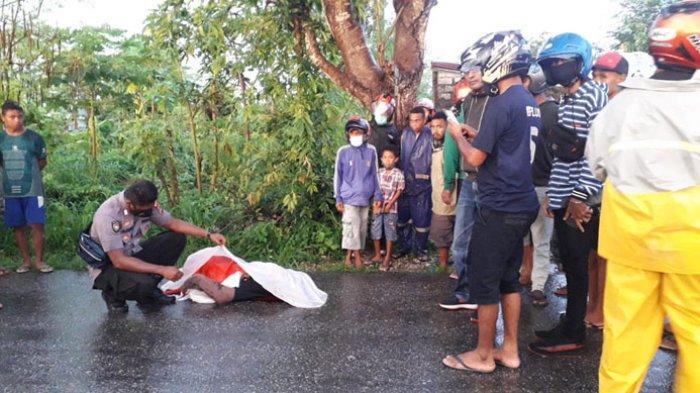 Mahasiswa di Kupang Tewas di Tempat, Sepeda Motor Diduga Bersenggolan Dengan Mobil