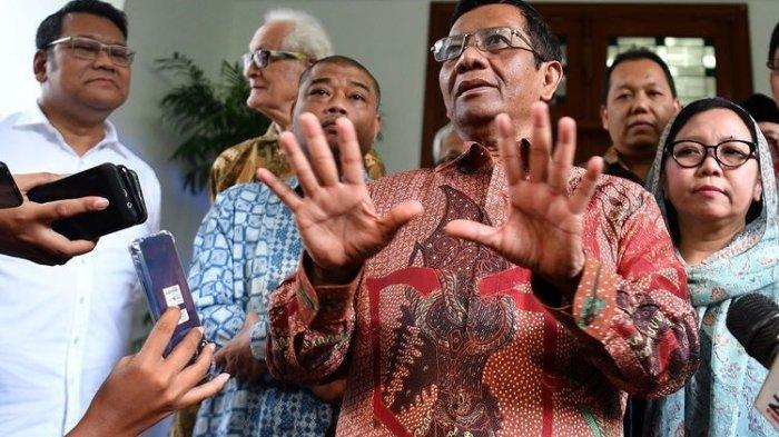 Mahfud MD Minta Semua Pihak Segera Menggagas Rekonsiliasi Seusai Pemilu 2019