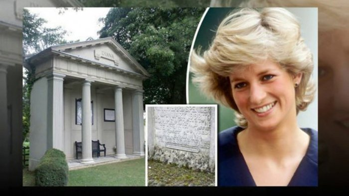 Berani Sekali, Koki Ini Protes Soal Kondisi Makam Putri Diana, Ini Reaksi Dari Kerajaan Inggris
