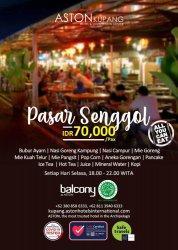 Makanan Enak Harga Terjangkau, Hanya di Pasar Senggol Aston Kupang Hotel