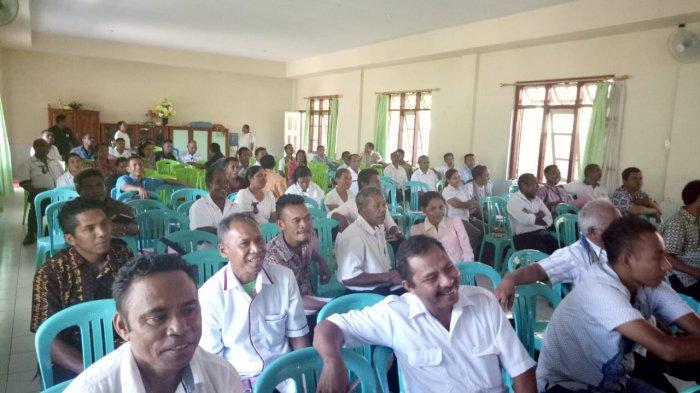 Dinas PMD Malaka Gelar Pelatihan Pengisian Aplikasi Profil Desa. Ini Kegiatannya