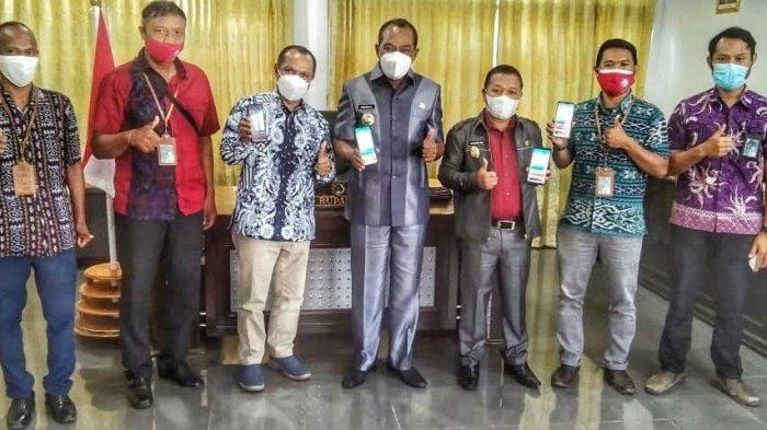 Manajer PLN ULP Bajawa Silaturahmi dengan Bupati dan Wakil Bupati Ngada