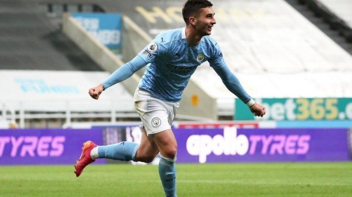 Ferran Torres Pemain Termuda Cetak Hatrik untuk City, Skor Newcastle vs Manchester City 3-4