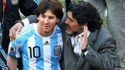 Legenda Hidup Diego Maradona Masih Yakin Piala Dunia 2018 Jadi Milik Lionel Messi