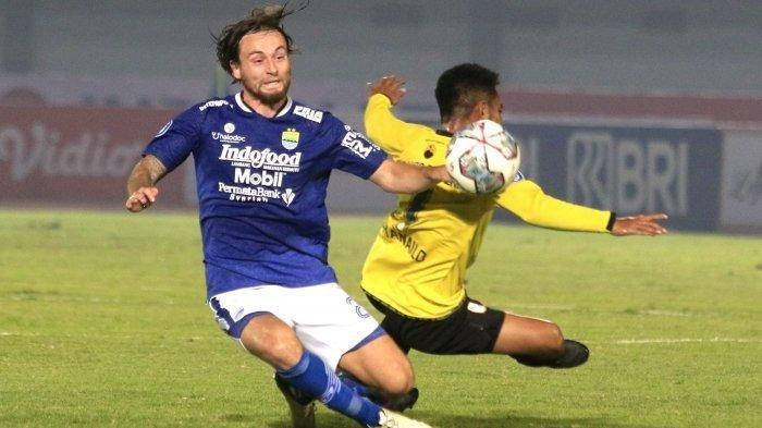 Kerap Puasa Gol di Dua Laga, Striker Persib Bandung, Wander Disindir Puteranya, David
