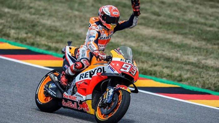Hasil MotoGP Ceko 2018, Marc Marquez di Puncak Klasemen dan Dedikasi Rossi di Yamaha
