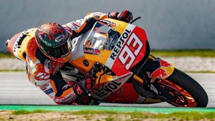 MotoGP Qatar 2021, Jadwal Live TRANS 7 & Usee TV Besok Minggu : Marc Marquez Absen Lagi