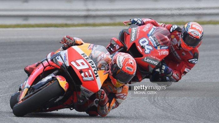 LIVE TRANS 7! jadwal & Link Live Streaming MotoGP Aragon Spanyol Hari Ini, Marc Marquez Terbaik!