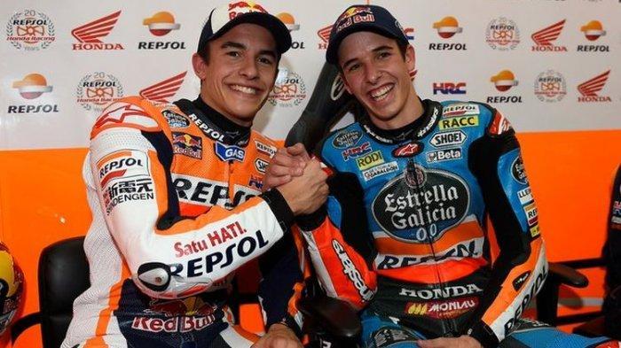 Alex Marquez resmi bergabung dengan Marc Marquez di Repsol Honda Team