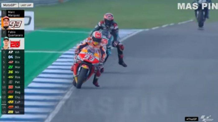 Fabio Quartararo Jadi Alasan Marc Marquez Alami Kecelakaan di Kualifikasi MotoGP Malaysia? Info