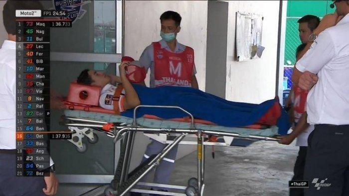 Kabar Duka MotoGP, Marc Marquez Berhenti Bernapas Sesaat Kecelakaan di Latihan Bebas MotoGP Thailand