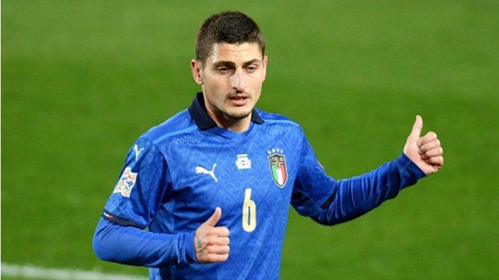 EURO 2020 - Mancini Optimistis Marco Verratti Akan Bela Italia di Laga Pembuka Piala Eropa 2020