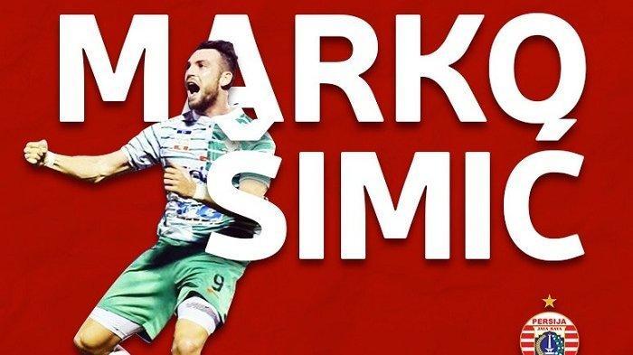 Marko Simic Bangga Jadi Pemain Pertama Persija Jakarta  Berhasil Menyetak 50 Gol di Liga 1