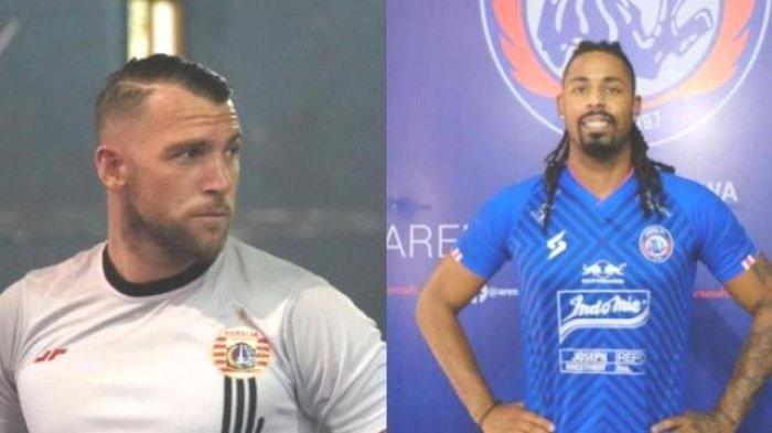 Begini Statistik Marko Simic dan Carlos Fortes Jelang Big Match Persija Jakarta Vs Arema FC