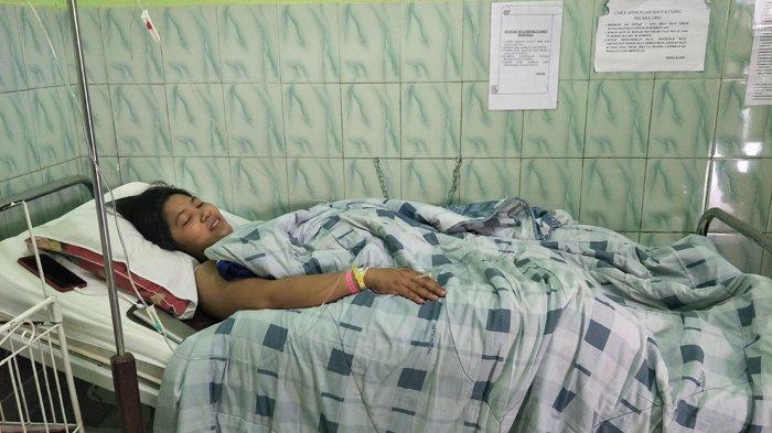Marlin Carolyn Lobo Senang Bayi Laki-laki dengan Berat 5,5 Kg Lahir 17 Agustus 2019