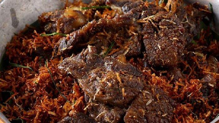 Masakan Khas Idul Adha 2021 Nikmat Saat Makan Malam Empal Serundeng Daun Jeruk, Apa Resepnya?