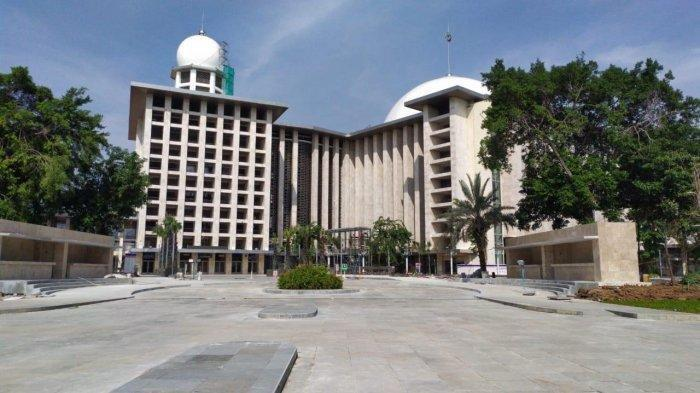Di Tengah Pandemi Corona, Masjid Istiqlal Gelar Takbir Akbar Virtual, Hanya Dihadiri 5 Orang Saja