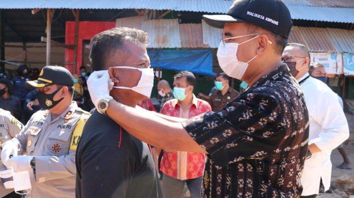 Pemkot Kupang dan Polres Kupang Kota Gelar Operasi Protokol Kesehatan