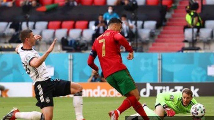 Hasil Lengkap Euro 2020 - Gol Bunuh Diri Warnai Kemenangan Jerman Atas Portugal, Ronaldo Marah