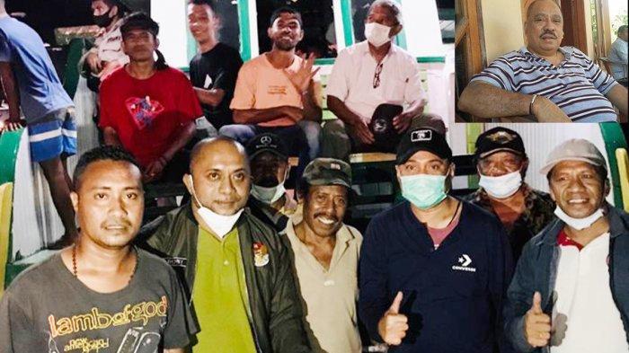 Melchias Mekeng Anggota DPR RI Beri Bantuan 500 Lembar Selimut untuk Korban Banjir Bandang Adonara