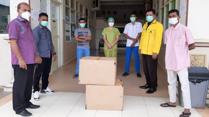 Melki Laka Lena Bantu APD Untuk Rumah Sakit di Belu