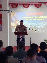 Cegah Corona, Kapolda NTT Himbau Warga Sumba Barat Dan Sumba Tengah Jaga Kebersihan