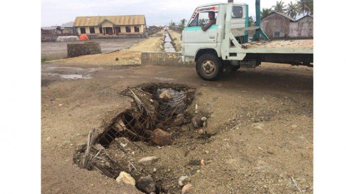 Mencegah Terjadinya Kecelakaan, Warga Minta Pemkab Nagekeo Perbaiki Duiker di Nangadhero