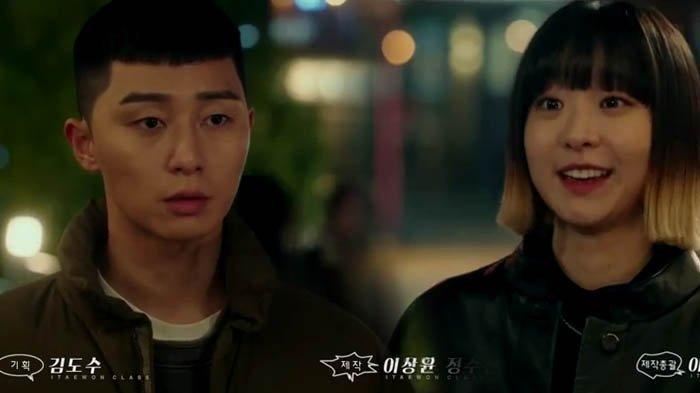 Menggemaskan, Intip Chemistry Park Seo Joon & Kim Da Mi di Balik Layar Drama Korea Itaewon Class