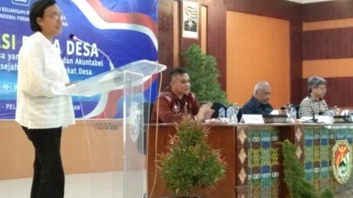 Sri Mulyani: Pembangunan Infrastruktur Bukan untuk Kepentingan Presiden Jokowi