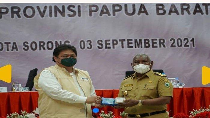 Menko Airlangga Puji Penanganan Covid-19 di Papua Barat dan Terus Mendorong Pemulihan Ekonomi