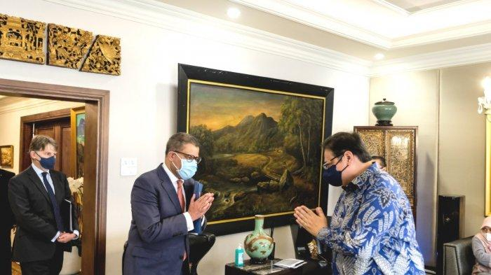 Airlangga Bangga Inggris Akui Komitmen Indonesia TerapkanPertanian Berkelanjutan