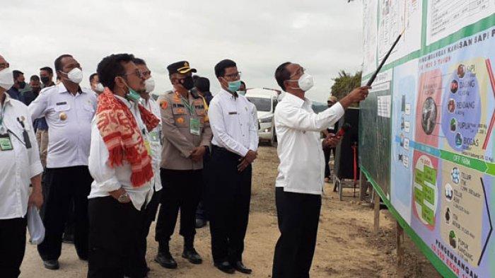 Menteri Pertanian RI Syahrul Yasin Limpo Cek Kesiapan Lokasi Food Estate Sumba Tengah Pagi Ini