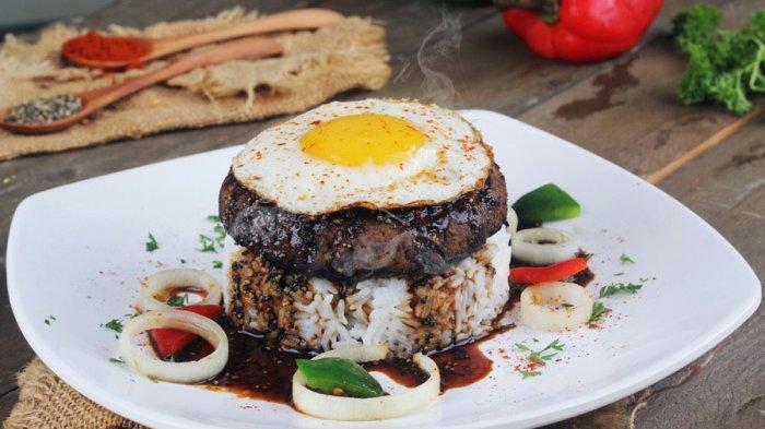Menu Hambuga Pepper Ricebowl Favorit Pelanggan Waroenk Podjok