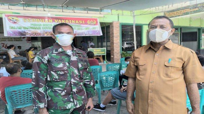Menuju KBM Tatap Muka 900-an Siswa SMAK Giovanni Kupang Mengikuti Vaksinasi