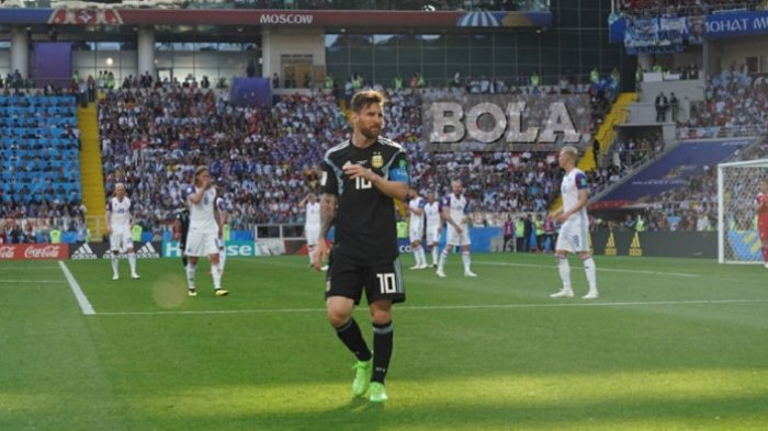 Info Sport, Kualifikasi Piala Dunia 2022  Argentina vs Chile Imbang Skor 1-1,  Nasib Messi