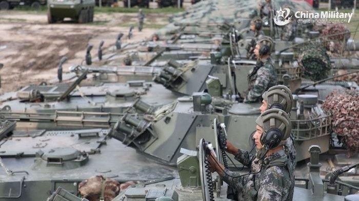 Persiapan China Serbu Taiwan Maksimal,Peringatan Bejing ke Taipei Makin Keras,Tentara China Bersiap