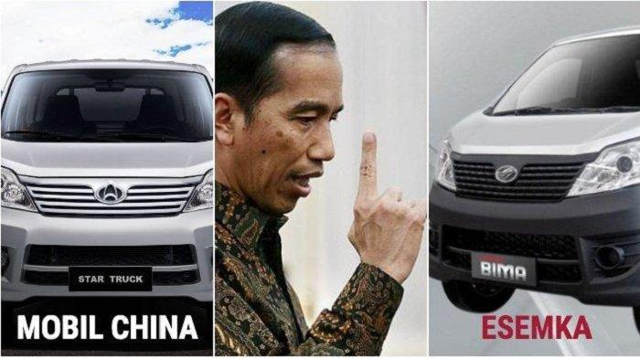 Mobil Esemka Bima Jokowi Rebadge China Changan Star Truck? Cek Faktanya dan Tweet Rocky Gerung