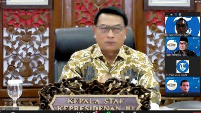 KSP Moeldoko Mendekatkan Masyarakat-Istana Saya Digebukin ICW, Silakan Saja (2)