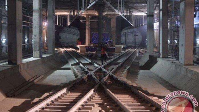 WOW Pembangunan MRT Jakarta Sudah 94 Persen