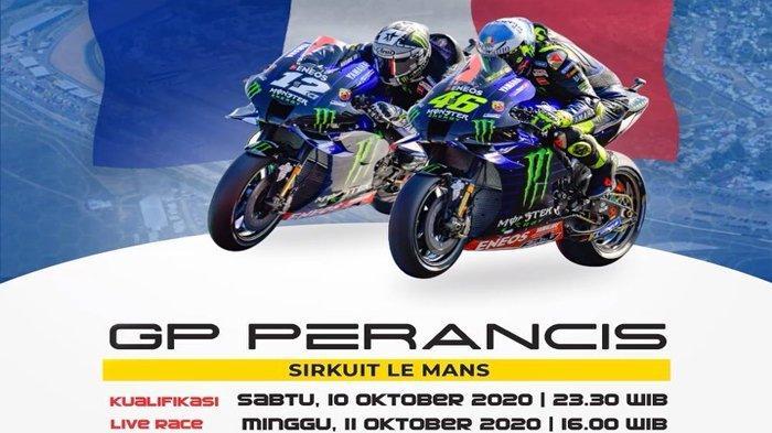 NONTON Live Streaming Trans7 MotoGP Prancis 2020 Seri 9 MotoGP 2020, Link TV Online Trans7 & Usee TV