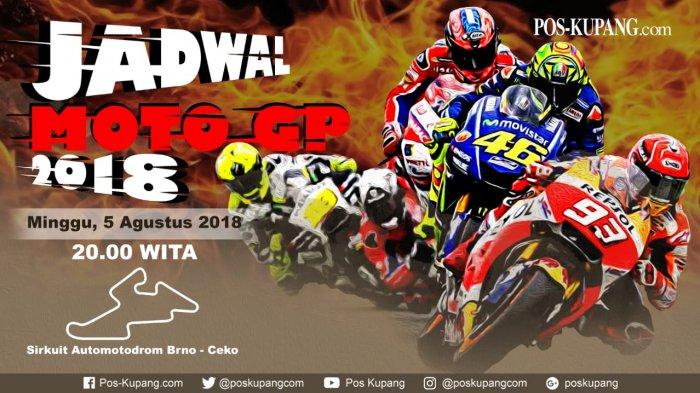 Live Streaming MotoGP Ceko 2018 dan & Live Trans 7 Malam ini,  Bakal Tersaji Persiangan Sengit