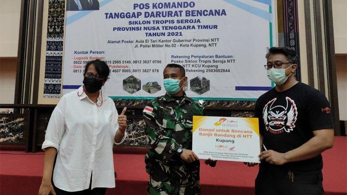MPM Honda Jatim Berikan Bantuan untuk Korban Banjir NTT Lewat Program MPM Berbagi
