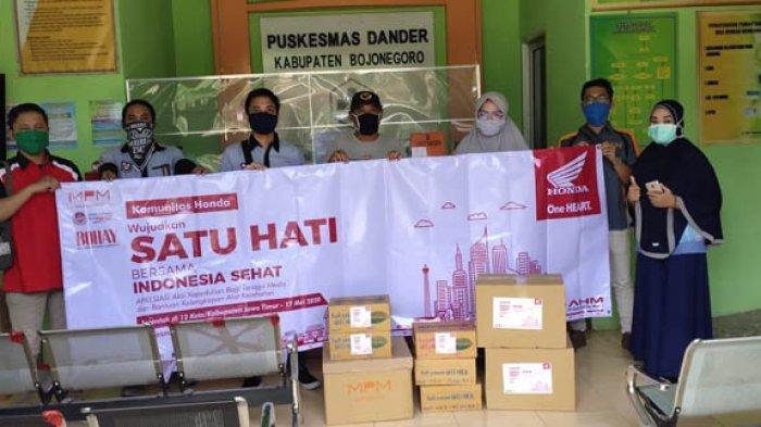 MPM Honda Jatim dan Komunitas Honda Jatim Salurkan Donasi ke 12 Kota