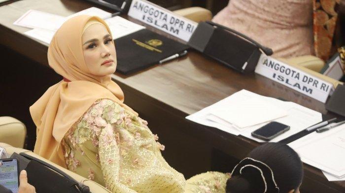 Waduh! Mulan Jameela Dihujat Gegera Tampilan Celananya Saat Sidang di Senayan, Ini Fotonya