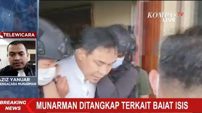 Munarman Ditahan di Rutan Narkoba Polda Metro Jaya, Ini Dugaan Keterlibatannya di Jaringan Terorisme