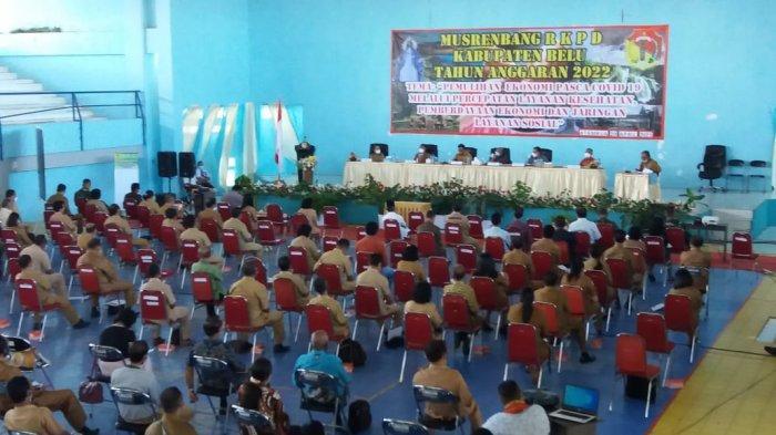 Pemkab Belu Gelar Musrenbang RKPD Tahun Anggaran 2022