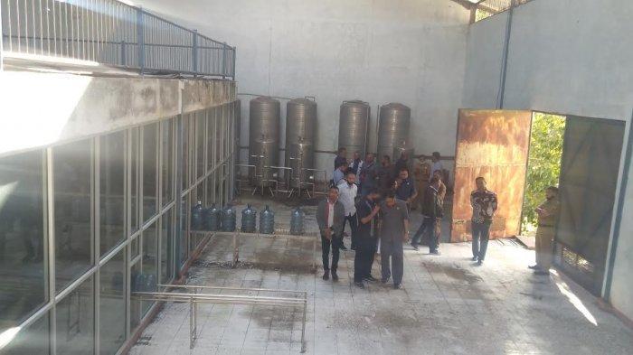 Pansus LKPJ Segera Rekomendasikan Bangunan Perusahaan Air Mineral Ke APH
