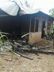Di TTS, Gara-Gara Handphone Rumah Janda Alami Kebakaran