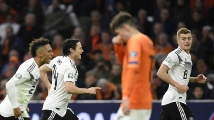 Belanda vs Jerman Skor 2-3, Gol Menit Akhir Menangkan Tim Panser